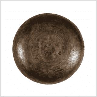 Solarplexus Klangschale Dharmachakra 4361g Unten