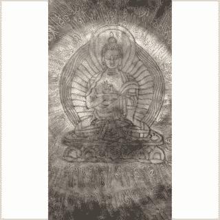 Solarplexus Klangschale Dharmachakra 4361g Nahansicht
