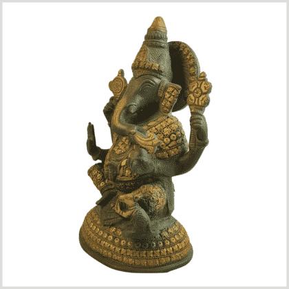 Ganesha Steinarbeit 4,7kg Seite links