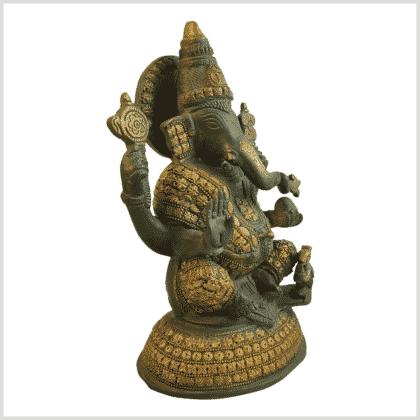 Ganesha Steinarbeit 4,7kg Seite rechts