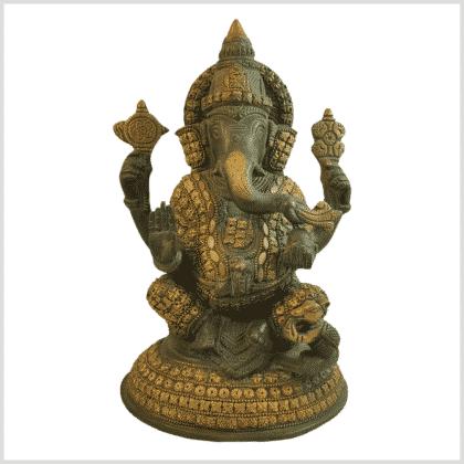 Ganesha Steinarbeit 4,7kg Vorderansicht