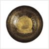 Beckenklangschale Dharmachakra Buddha 2210g Draufsicht