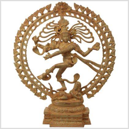 Shiva Nataraja Messing 8,3kg Sandgold