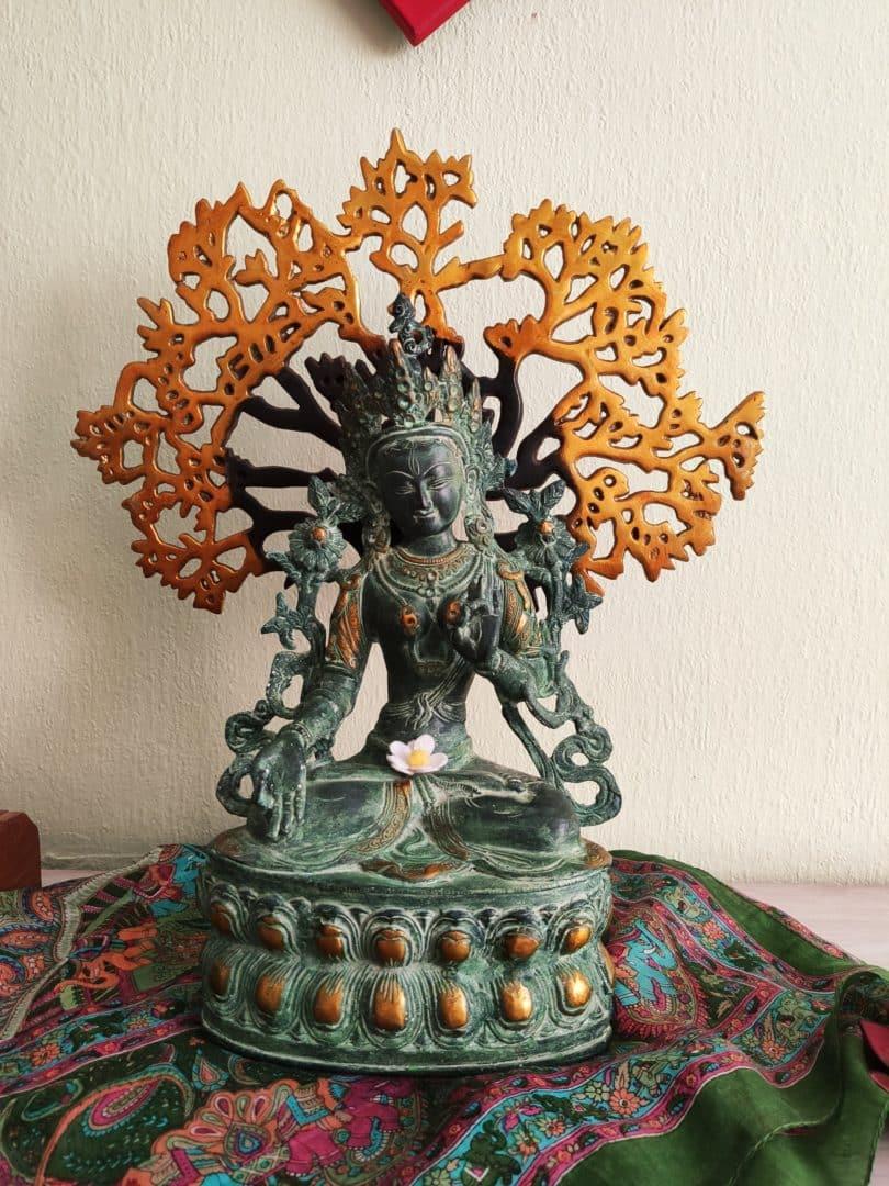 Gallerie Weiße Tara mit Bodhibaum
