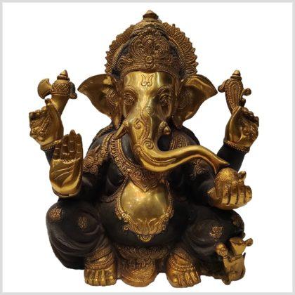 Ganesha Ganapati 13kg braungold