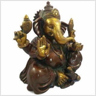 Ganesha braungrün 11kg Seite rechts