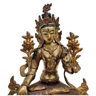 Weiße Tara Original aus Nepal 25cm Gesicht