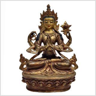 Avalokiteshvara Original Nepal 25cm Vollansicht
