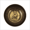Universalklangschale Erdender Buddha 1470g Oben