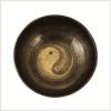 Yin & Yang Herzchakra Klangschale 1030g 19,8cm Oben