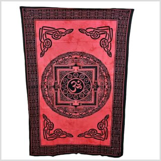 Aum Yantra Wandtuch Wandbehang