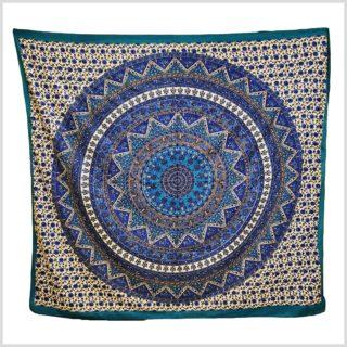 Mandala Wandbehang blau