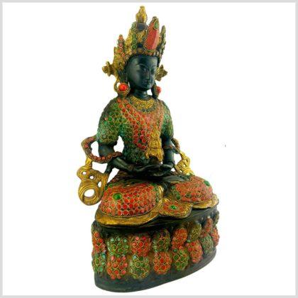 Amitayus Adibuddha 37cm Seite
