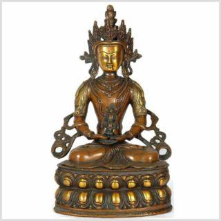 Amitayus Adibuddha 3,7kg Messing braungrün