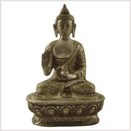 Segnender Buddha 17cm Vorderansicht
