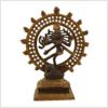 Shiva kaffeebraungold 17cm Vorderansicht