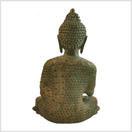 Lehrender Buddha mit Steinen Hinten