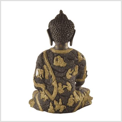 Medizinbuddha 6kg Messing Kupfer Hinten