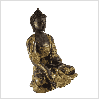 Medizinbuddha 6kg Messing Kupfer Seite rechts