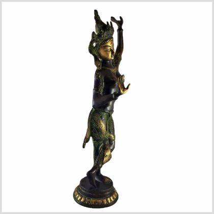 Maya Devi 41cm grünantik Seite rechts