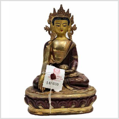 Erdender Buddha 25cm Original aus Nepal