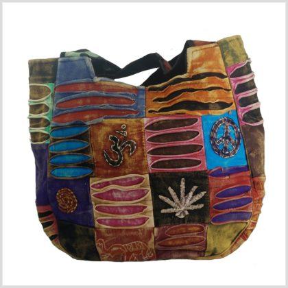 Patchwork Handtasche Vorne