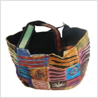 Patchwork Handtasche Innen