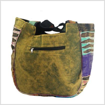 Patchwork Handtasche Hinten