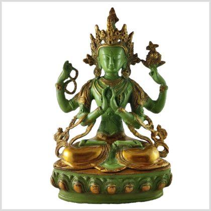 Avalokiteshvara Chenrezig Mintgrün vorne