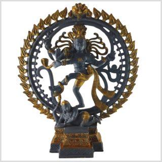Tanzender Shiva 43cm 6kg blaugrau