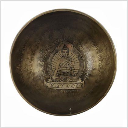 Herzchakra Klangschale Erdender Buddha 910g