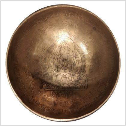 Große Herzklangschale Avalokiteshvara 1281g