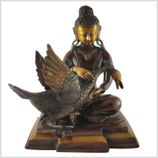 Buddha und der Schwan 4,12kg Vorne