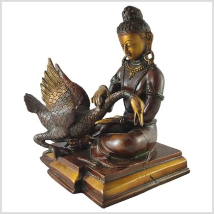 Buddha und der Schwan 4,12kg links