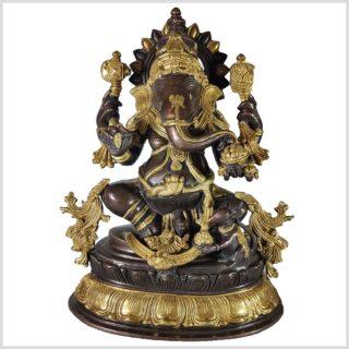 Ganesha 38,5cm Messing Kupfer Vorne