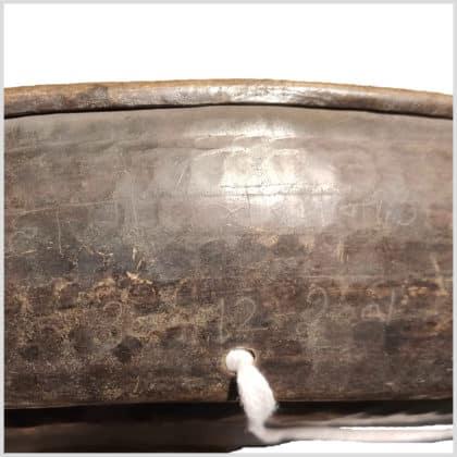 Buckelgong 6kg 72cm Gravur