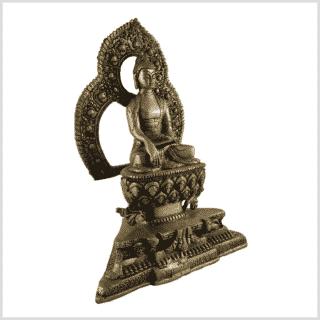 Tempelbuddha Erdender Buddha 2kg rechts