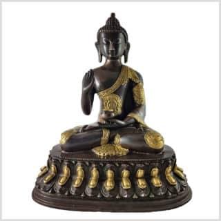 Segnender Buddha 3,5kg 26cm Vorne