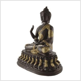 Segnender Buddha 3,5kg 26cm Seite links
