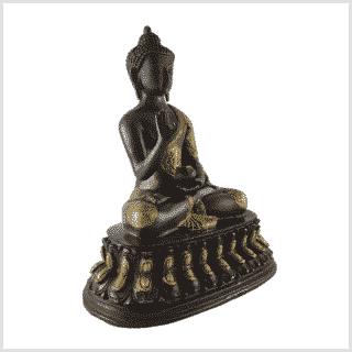 Segnender Buddha 3,5kg 26cm Seite rechts