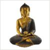 Erleuchteter Buddha 5,8kg braungold Vorderseite