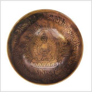 Kopfchakra Klangschale Erleuchteter Buddha 298g