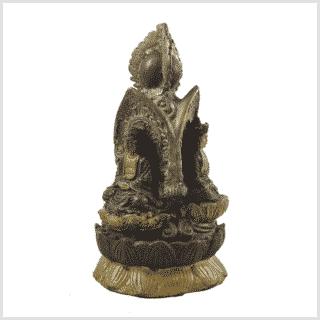 Buddha Stupa 3 Buddhas hinten