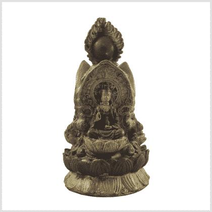 Buddha Stupa 3 Buddhas 1