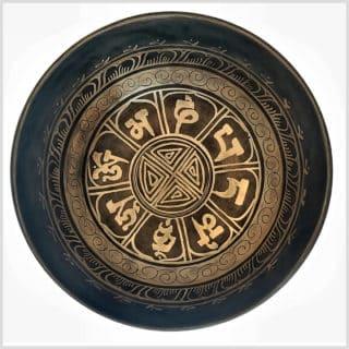 Herzchakra Klangschale Aum Mantra 1079g
