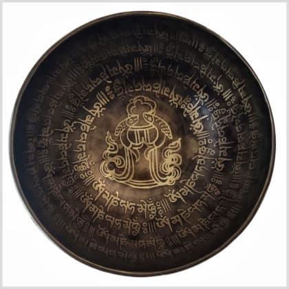 Sakralchakra Klangschale 1534g Innenansicht