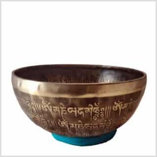 Sakralchakra Klangschale 1534g Seitenansicht