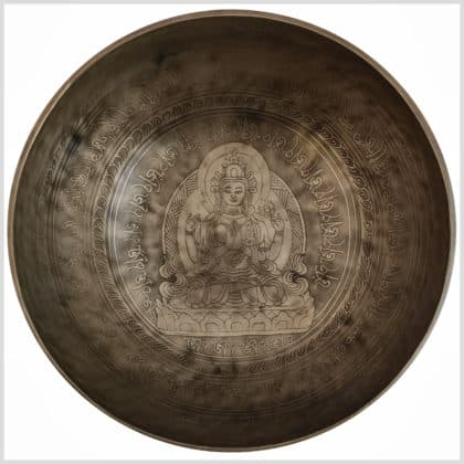 Solarplexus Chakra Klangschale Avalokiteshvara 2262g