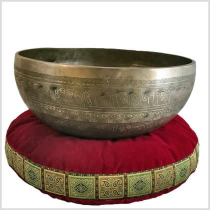 Sakralchakra Klangschale Manjushri 3688g Seite