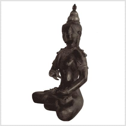 Vajrasattva Dorje Sempa braun 33,5cm links